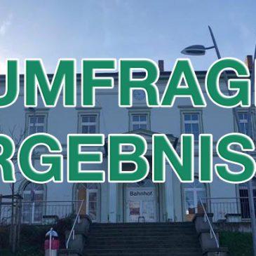 Ergebnisse: Umfrage Bahnhofsgebäude Bad Langensalza
