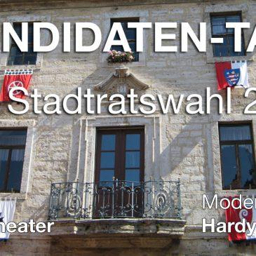 Noch 1 Woche bis zum Ersten Kandidaten-Talk zur Stadtratswahl in Bad Langensalza – mit Spitzenkandidaten von allen Wahlvorschlägen