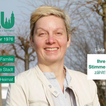 Kandidatenvorstellung: Anja Ziegenhals (Platz 7)