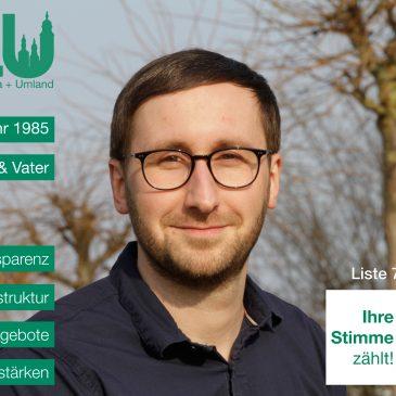 Kandidatenvorstellung: Christoph Wünsch (Platz 10)