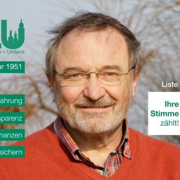 Kandidatenvorstellung: Horst Jerina (Platz 9)