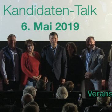 Recap: Kandidaten-Talk 2019