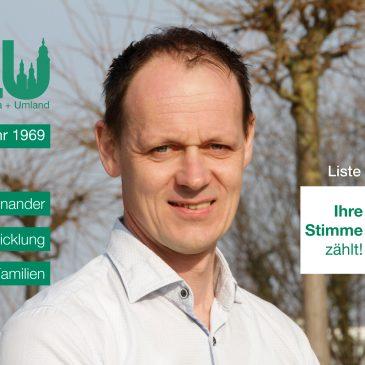 Kandidatenvorstellung: Lutz Ziegenhals (Platz 8)