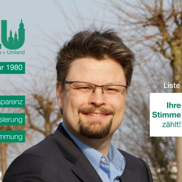 Kandidatenvorstellung: Patrick Kosiol (Platz 2)