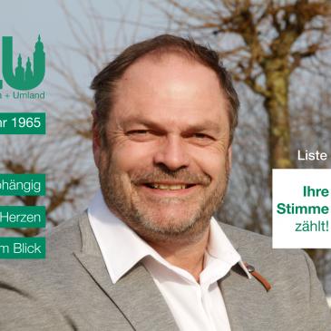 Kandidatenvorstellung: Steffen Eke (Platz 1)