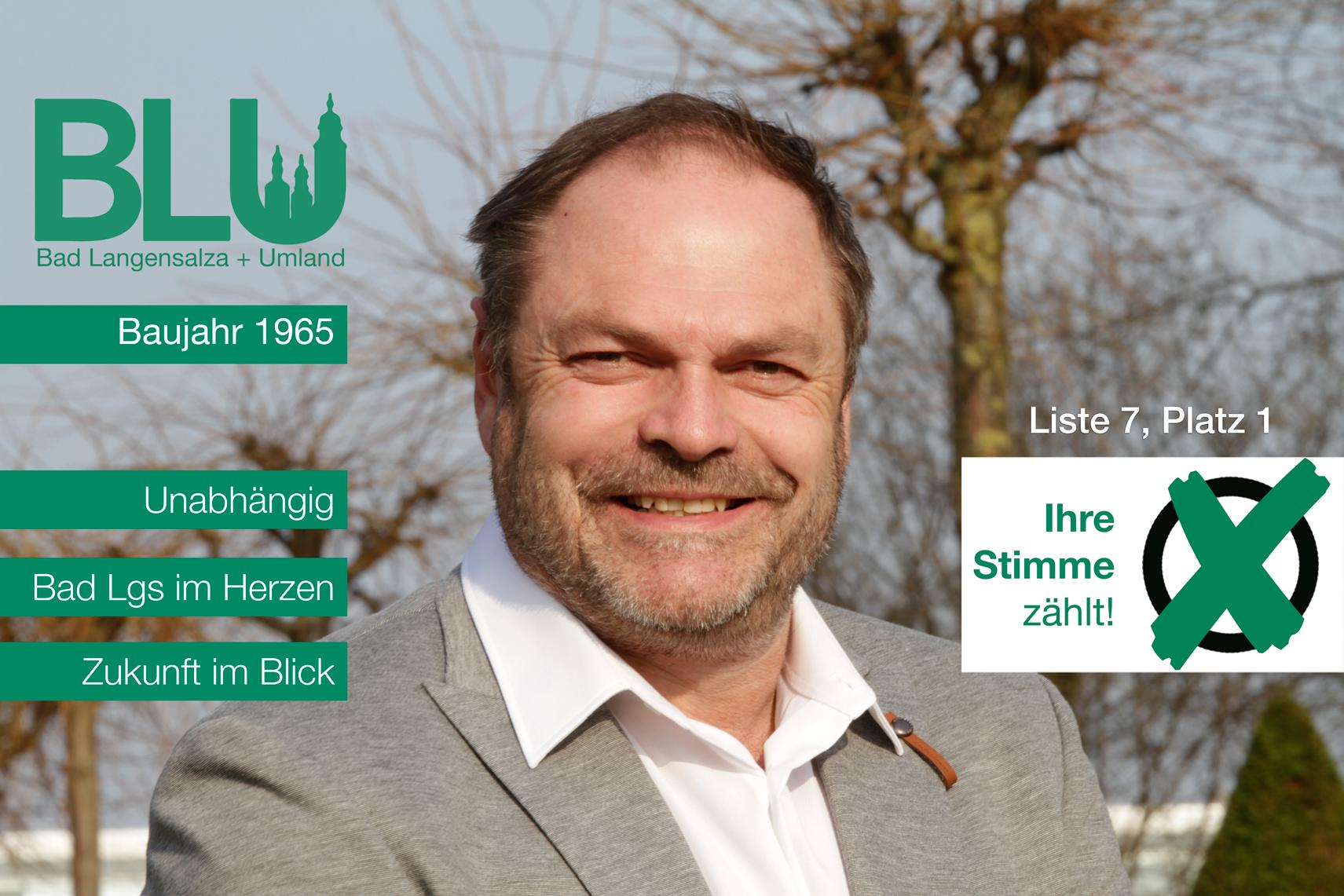 Steffen Eke - Liste 7 Platz 1