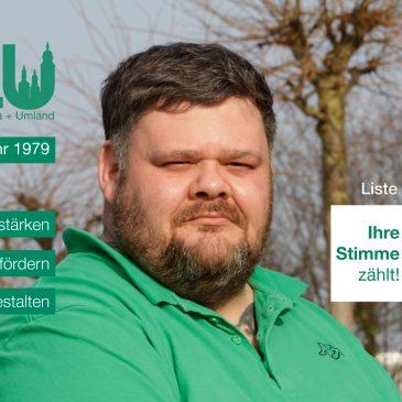 Kandidatenvorstellung: Tobias Benich (Platz 3)