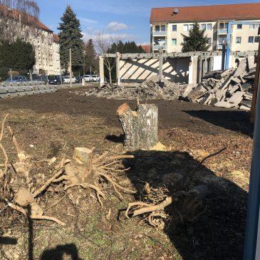 """Stadtratsanfrage der BLU zum """"alten Rundbau"""" im Wohngebiet Nord"""