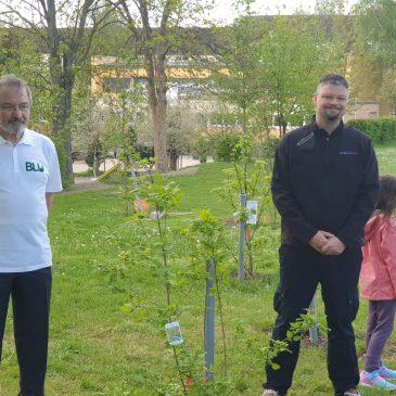 """BLU unterstützt """"Grünes Klassenzimmer"""" an der Grundschule Sonnenhof in Bad Langensalza"""